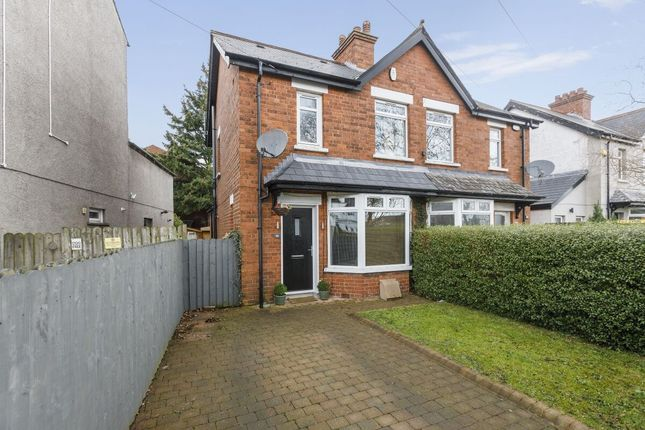 Thumbnail Semi-detached house for sale in North Road, Ballyhackamore, Belfast