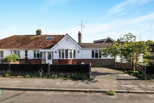 Thumbnail Semi-detached bungalow for sale in Sefton Road, Portslade, Brighton