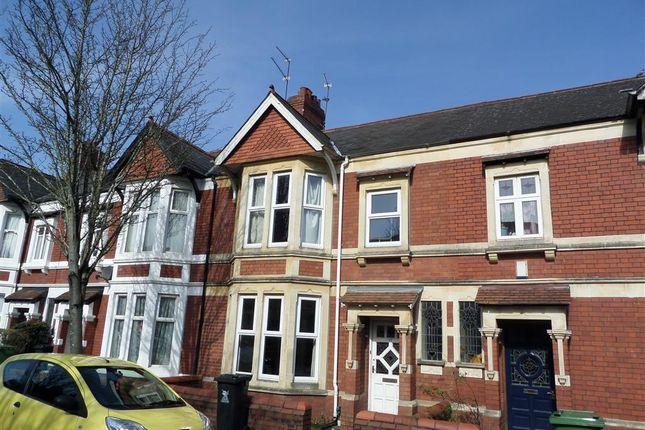 Thumbnail 4 bed property to rent in Waterloo Gardens, Penylan, Cardiff