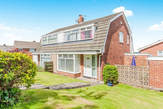 Thumbnail Semi-detached house for sale in Beda Hill, Blaydon-On-Tyne