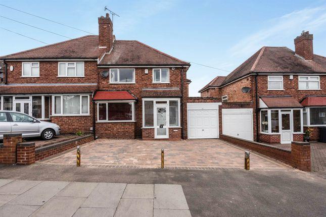 Thumbnail Semi-detached house for sale in Ollerton Road, Yardley, Birmingham