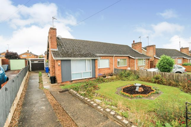 Thumbnail Semi-detached bungalow for sale in Pennine Way, Kettering
