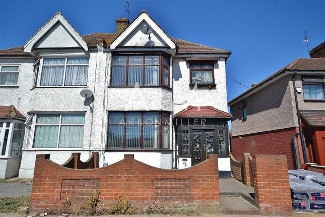 Thumbnail Semi-detached house for sale in Amwell View, New North Road, Ilford