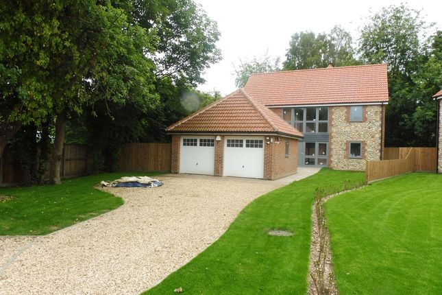 Thumbnail Detached house for sale in Dereham Road, Scarning, Dereham