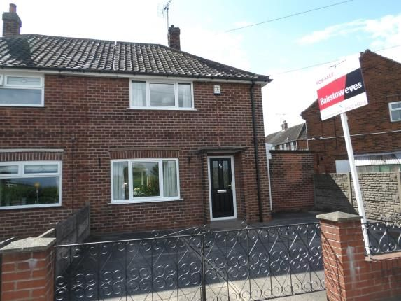 Thumbnail 2 bed semi-detached house for sale in Park Hall Road, Mansfield Woodhouse, Mansfield, Nottinghamshire