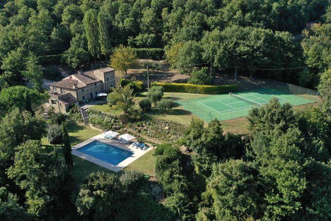 Thumbnail Farmhouse for sale in Falzano, Cortona, Arezzo, Tuscany, Italy