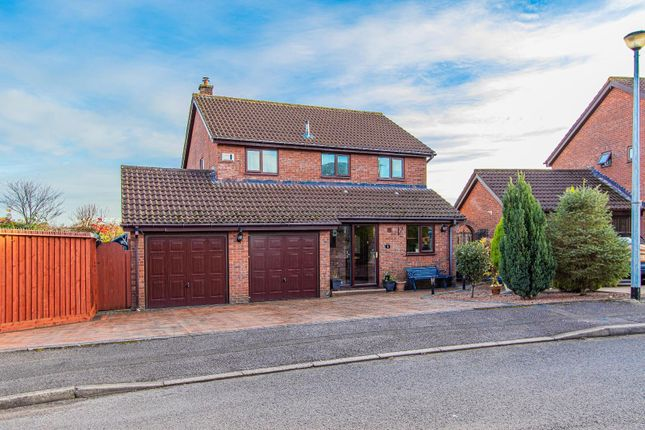 Thumbnail Detached house for sale in Thornwood Close, Thornhill, Cardiff