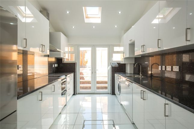 Thumbnail End terrace house to rent in Woodcote Avenue, Mill Hill, London