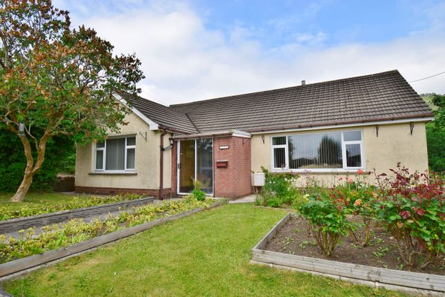 Thumbnail Detached bungalow for sale in Penrhiw Lane, Machen, Caerphilly