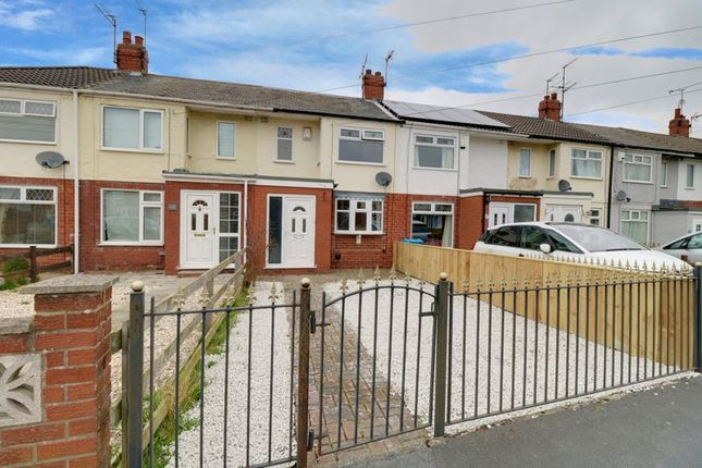 Terraced house for sale in Moorhouse Road, Hull
