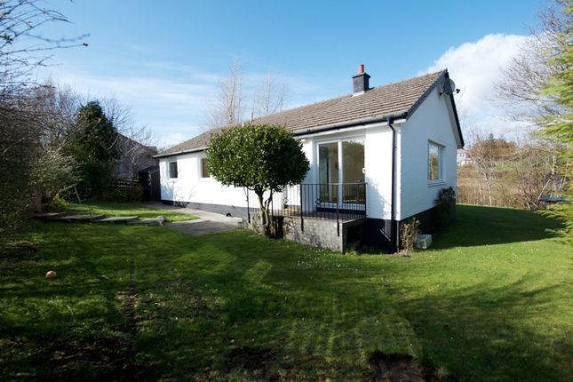 Thumbnail Detached bungalow for sale in Creagan Park, Erray Road, Tobermory, Isle Of Mull