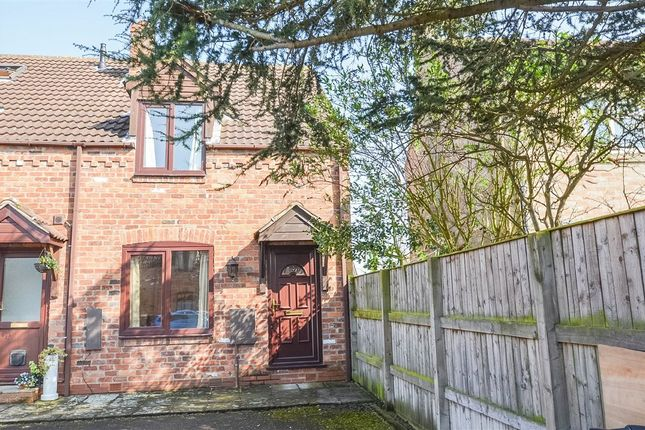 Thumbnail End terrace house to rent in Westwood Mews, Dunnington, York
