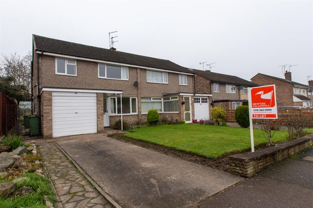 Thumbnail Semi-detached house to rent in Packer Avenue, Leicester Forest East, Leicester