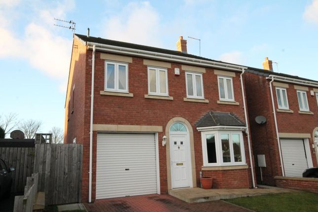 Thumbnail Detached house for sale in Hartburn Close, Chapel Park, Newcastle Upon Tyne