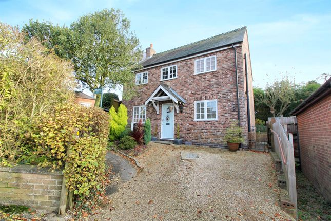 Thumbnail Detached house for sale in Chapel Lane, Tugby, Leicester