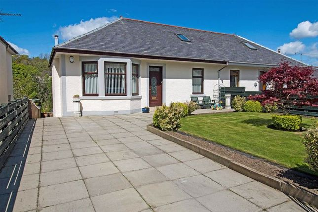 Thumbnail Semi-detached bungalow for sale in Old Inverkip Road, Greenock
