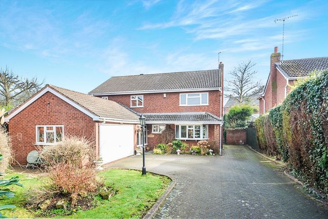 Thumbnail Detached house for sale in Scalpcliffe Close, Burton-On-Trent