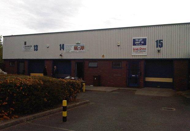Thumbnail Light industrial to let in Unit 14, Engineer Park, Babbage Road, Sandycroft, Flintshire