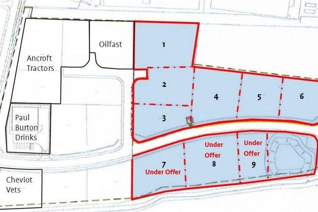 Thumbnail Land to rent in Pinnaclehill Industrial Estate, Kelso, Roxburghshire, Scottish Borders