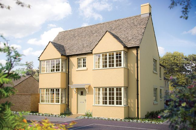 "Thumbnail Semi-detached house for sale in ""The Sheringham"" at Todenham Road, Moreton-In-Marsh"