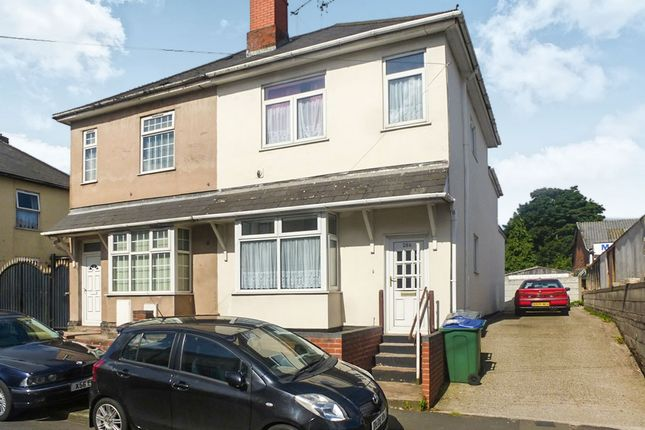 Thumbnail End terrace house for sale in Bearwood Road, Bearwood, Smethwick