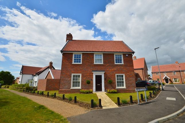 Thumbnail Detached house to rent in Pryor Close, Snape, Saxmundham