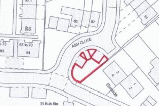 Thumbnail Land for sale in Land At, Ash Close, Edgware, Middlesex
