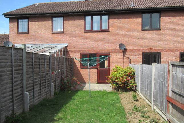 Thumbnail Terraced house to rent in Foxcote, Yeovil