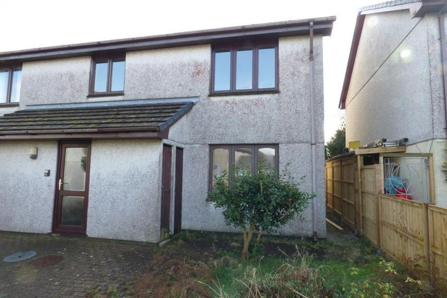 Thumbnail Flat for sale in Tor View, St. Austell