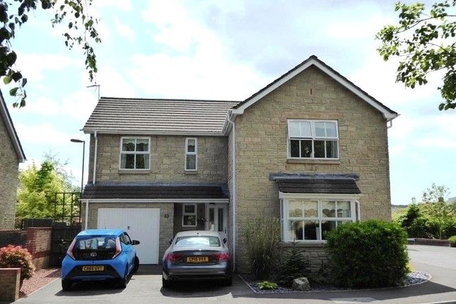 Thumbnail Detached house for sale in Parc Derllwyn, Tondu, Bridgend.