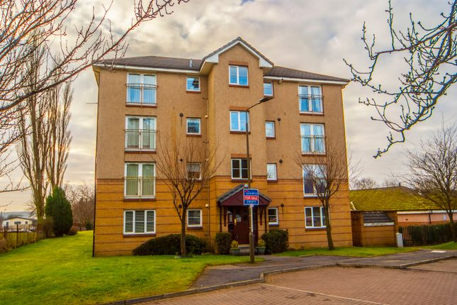 Thumbnail Flat for sale in Queens Court, Larbert