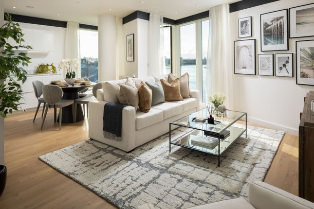 1 bed flat for sale in Banning Street, Royal Greenwich, London SE10