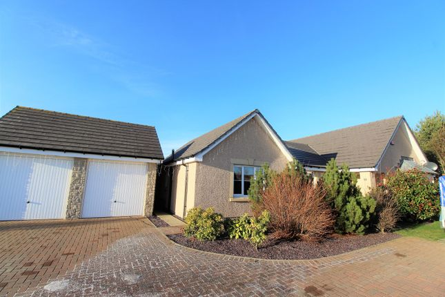 Thumbnail Detached bungalow for sale in Harvey Way, Inverurie