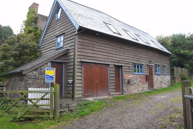 Thumbnail Barn conversion to rent in Back Lane, Worthen, Shrewsbury