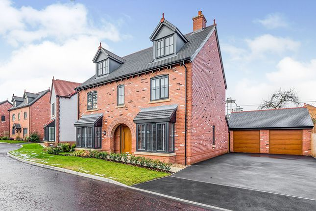 Thumbnail Detached house for sale in Alder Way, Holmes Chapel, Crewe, Cheshire