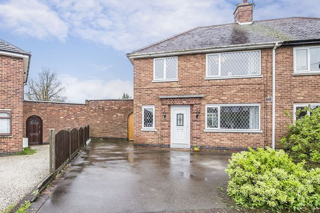 3 bed semi-detached house to rent in Holt Road, Burbage, Hinckley