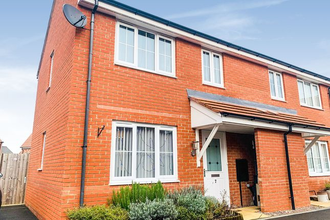 Thumbnail Semi-detached house for sale in Summerhill Place, Market Harborough