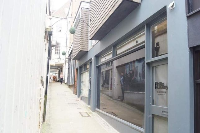 Thumbnail Retail premises to let in 14-15 Jeffries Passage, Guildford