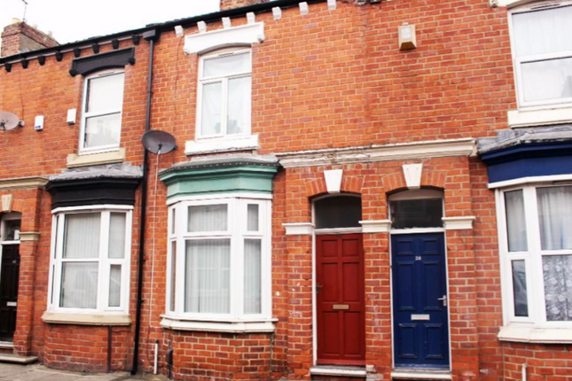 Thumbnail Terraced house to rent in Camden Street, Middlesbrough