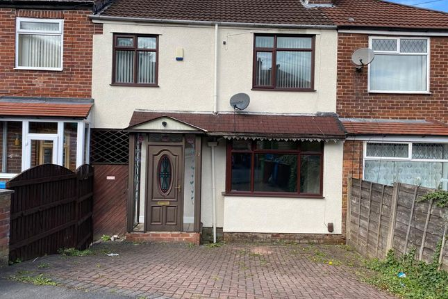 Thumbnail 3 bed terraced house to rent in Selwyn Avenue, Manchester