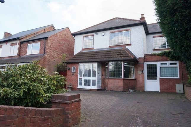 Thumbnail Detached house for sale in Penns Lane, Wylde Green, Sutton Coldfield