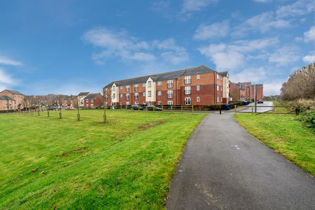 Thumbnail Flat for sale in Hobby Way, Cannock