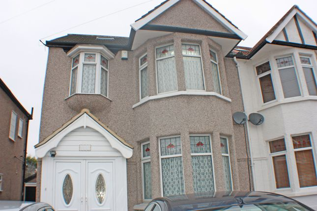 Thumbnail Semi-detached house for sale in Glenwood Gardens, Gants Hill