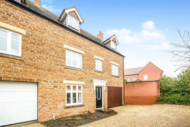 Thumbnail End terrace house for sale in Angelica Close, Banbury