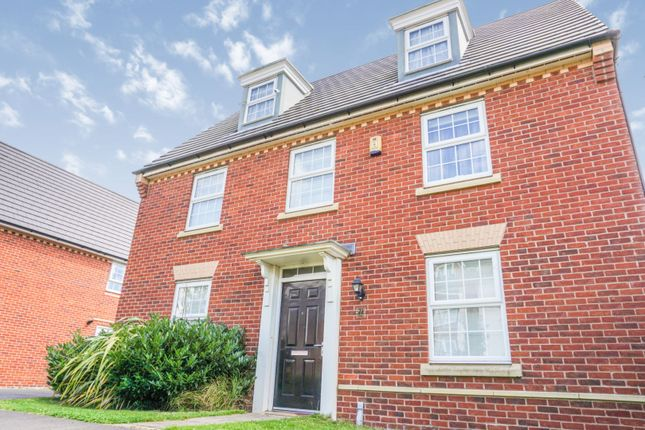 Thumbnail Detached house for sale in Belvedere Drive, Warrington