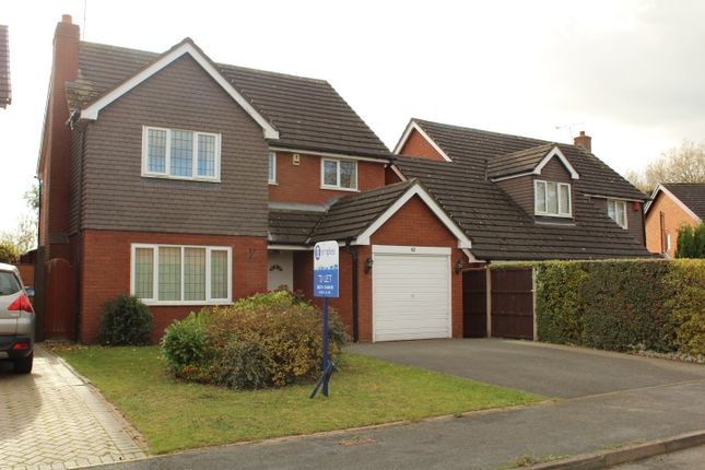 Thumbnail Detached house to rent in Millbeck Close, Weston, Crewe, Cheshire