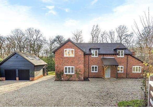 Thumbnail Detached house for sale in Maidensgrove, Henley-On-Thames