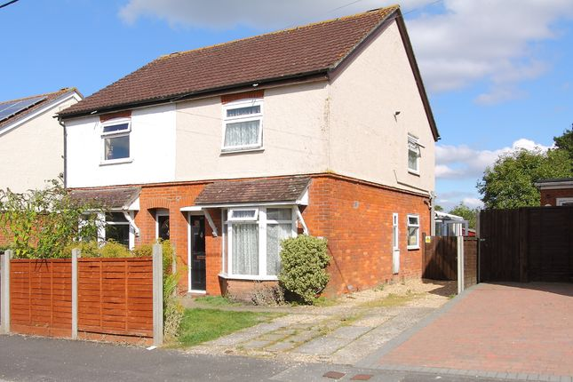 3 bed semi-detached house for sale in Batchelors Barn Road, Andover SP10
