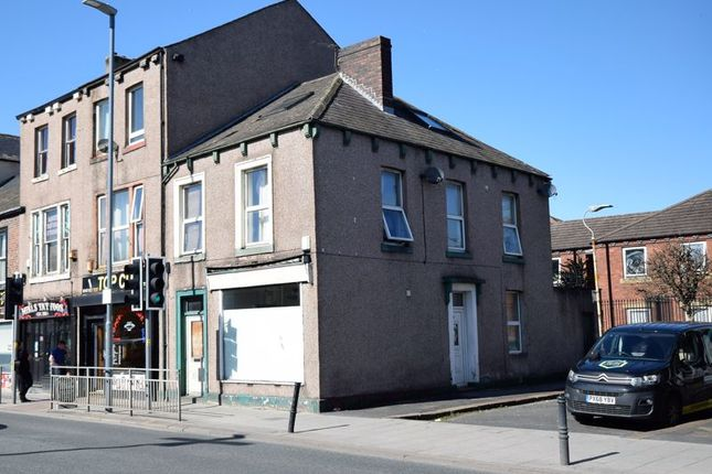 1 bed terraced house to rent in Charles Street, Carlisle CA1