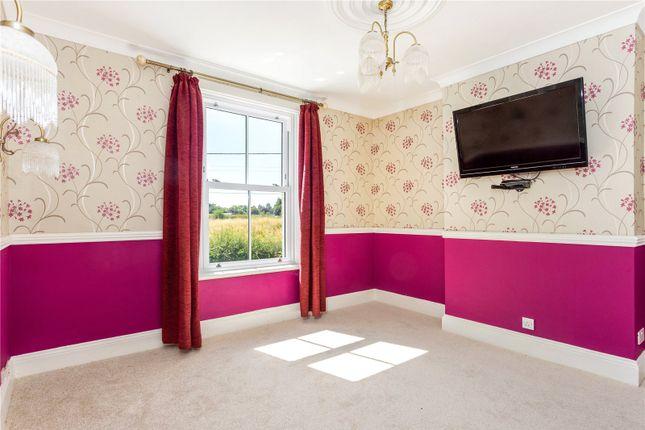 Bedroom of The Hyde, Purton, Wiltshire SN5